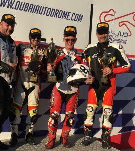 Dubai ProTwin podium 2019