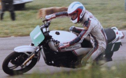 Yamaha RD250LC - Aintree 1983